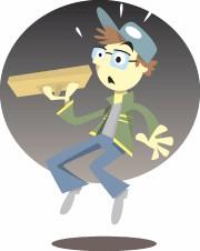 Arthur le vendeur de pizza tel qu'imaginé par... (Illustration de Rémy Simard) - image 7.1