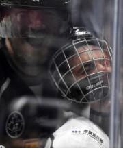 Justin Bieber est mis en échec par Chris... (PHOTO AP) - image 1.0