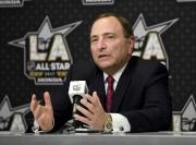 Le commissaire de la LNH, Gary Bettman, est... (AP, Mark J. Terrill) - image 4.0