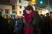 Justin Trudeau a serré dans ses bras une... (PHOTO OLIVIER JEAN, LA PRESSE) - image 2.0