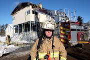 Le directeur du Service de sécurité incendie régional... (Alain Dion, La Voix de l'Est) - image 2.0