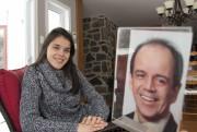 Endeuillée par le suicide de son père, le... (Sylvain Mayer, Le Nouvelliste) - image 1.0