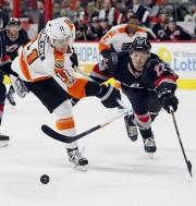 Les Flyers de Philadelphie ont connu un match... (AP, Karl B DeBlaker) - image 6.0