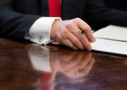 Le président Donald Trump a promis d'«annuler» l'Accord... (PHOTO Pablo Martinez Monsivais, archives Associated Press) - image 1.0