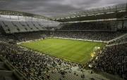 Le Corinthians Arena àSão Paulo... (Photo Miguel Schincariol, archives AFP) - image 1.0