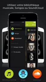 Saisie d'écran de l'application AmpMe... (IMAGE TIRÉE DU SITE D'AMPME) - image 1.0