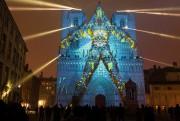 Les projections de l'artiste Yann Nguema ont transformé... (Photo Emmanuel Foudrot, archives reuters) - image 2.0