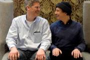 Le réalisateur Olivier Asselin et l'acteur Paul Ahmarani.... (Le Soleil, Erick Labbé) - image 4.0