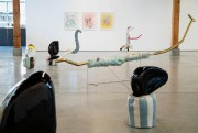 Braceletsest une sorte de jardin de sculptures entouré... (Photo Alain Roberge, La Presse) - image 1.0