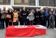 Une cérémonie officielle a été organisée samedi à... (AFP, Fethi Belaid) - image 1.0