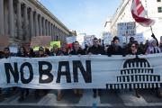 Les manifestations contre le décret anti-immigration du président... (AFP, Molly Riley) - image 3.0