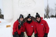 Les sculptures de neige ont été fort populaires,... (Julie Catudal, La Voix de l'Est) - image 1.0
