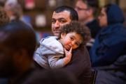 Plusieurs enfants ont assisté à la cérémonie.... (Olivier Croteau, Le Nouvelliste) - image 2.0