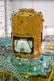 Le cargo «Kounotori» au Centre spatial de l'île... (AFP, JAXA) - image 2.0