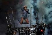 Lady Gaga lors de sa prestation au Super... (AFP, Timothy A. Clary) - image 5.0