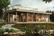 Les Industries Bonneville dévoilera la maison Natur-Eco, une... (ILLUSTRATION FOURNIE PAR LES INDUSTRIES BONNEVILLE) - image 2.0