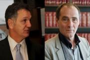 Les avocats criminalistes Jocelyn Grenon (à gauche) et... (archives La Voix de l'Est) - image 1.0