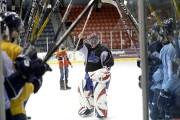 Mark Dickey a quitté la patinoire sous une... (Photo Le Quotidien, Jeannot Lévesque) - image 2.0