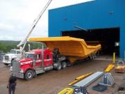Une benne géante de 240 tonnes sort de... (Photo fournie par Fransi Fabrication) - image 1.0