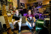 Le duo Oktoplut, formé de Laurence Fréchette et... (Photo Alain Roberge, La Presse) - image 3.0
