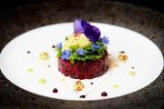 Un tartare de betterave aux couleurs spectaculaires:une rondelle... (Photo Bernard Brault, La Presse) - image 2.0