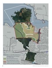 D'une superficie de 400 hectares, le secteur de... (ILLUSTRATION FOURNIE PAR L'OFFICE DE CONSULTATION PUBLIQUE DE MONTRɃAL) - image 5.0