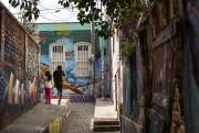 VOYAGE - L'art mural ˆ Valparaiso, au Chili.Photo... (Photo Denis Wong, collaboration spéŽciale) - image 1.1