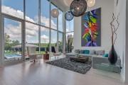 Pan de mur entièrement vitrŽé dont les fenêtres... (Photo fournie par Sotheby's Realty International QuéŽbec) - image 1.0