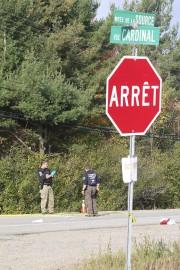 L'accident est survenu près de l'intersection de la... (Patrick Woodbury, Archives Le Droit) - image 2.0