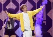 Justin Bieber, qui récolte quatre nominations, ne sera... (Photo Chris Pizzello, archives ASSOCIATED PRESS) - image 1.0