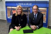 La directrice générale, Chantale Cyr, et le président... (Le Progrès-Dimanche, Rocket Lavoie) - image 1.0