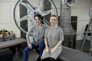 Sabrina Ferland et Élizabeth Boudreault, deux sopranos originaires... (Le Progrès-Dimanche, Jeannot Lévesque) - image 8.0