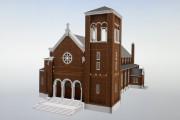 L'église Sainte-Thérèse-de-l'enfant-Jésus d'Arvida fait partie des quelque 70... (Le Progrès-Dimanche, Jeannot Lévesque) - image 1.0