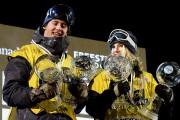 Mark McMorris et Anna Gasser ont remporté le... (Le Soleil, Erick Labbé) - image 2.0