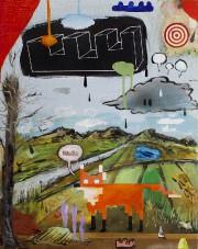 Petit théâtre de Dan Brault, 2016-2017, acrylique et... (Fournie par la Galerie 3) - image 2.0