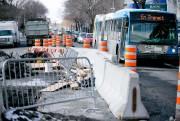 Les nombreux chantiers dans la métropole sont notamment... (PHOTO DAVID BOILY, ARCHIVES LA PRESSE) - image 1.0