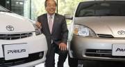 Takeshi Uchiyamada, président du conseil d'administration de Toyota,... - image 5.0
