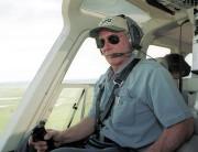 Harrison Ford dans son hélicoptère en 2001... (AFP) - image 4.0