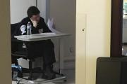 Un gardien était posté devant la chambre de... (Janick Marois, La Voix de l'Est) - image 1.0