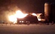 Un incendie majeur a ravagé... (Capture d'écran, vidéo partagée sur Twitter) - image 2.0