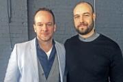 Olivier Dufour, concepteur de l'événement, et Byron Mikaloff,... (Le Soleil, Nicolas Perron-Drolet) - image 2.0