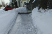 Les allées et trottoirs glacés ne sont évidemment... (Courtoisie) - image 1.1