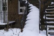 Certains résidents ne déblaient pas les escaliers qui... (Courtoisie) - image 1.0