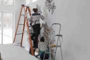 L'installation de l'oeuvre deParastou Forouhar chez Engramme... (Maryse Cléro-Nobréga, la Commune Web pour Manif d'art 8) - image 5.0