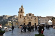 La construction de l'église de lapiazza SanPietro Caveoso... (PHOTO LAILA MAALOUF, LA PRESSE) - image 2.0