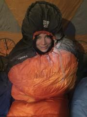 Réveil glacial pour Caroline Duranceau, qui garde le... (collaboration spéciale Jean-Sébastien Massicotte) - image 1.0