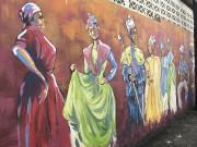 Une fresque de rue croquée dans le village... (Collaboration spéciale Normand Provencher) - image 3.0