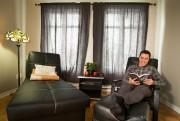 Pascal Rajotte se sent bien dans sa maison,... (PHOTO IVANOH DEMERS, LA PRESSE) - image 2.0