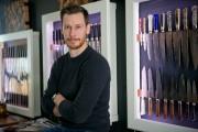 Guillaume De L'Isle, propriétaire de la boutique L'Émouleur,... (Photo David Boily, La Presse) - image 4.0