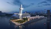Au terme des travaux en 2019, la jetée... (Image fournie par l'Administration portuaire de Montréal) - image 1.0